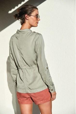 Sage TENCEL™ Shirt Jacket