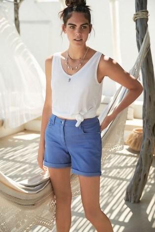 Blue Boy Shorts