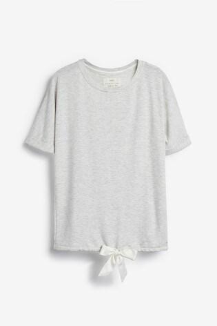 Grey Soft Viscose T-Shirt