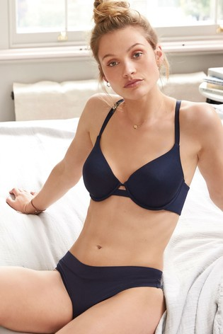 Navy Thong Next Forever Comfort® Knickers