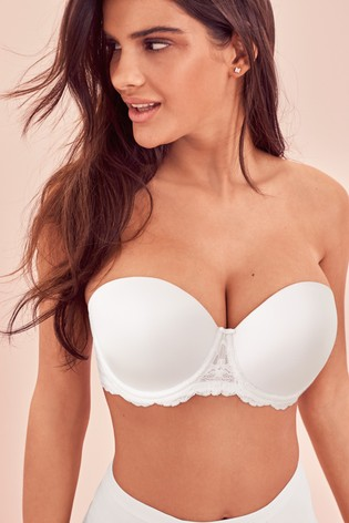 White Phoebe Light Pad Multiway DD+ Bra