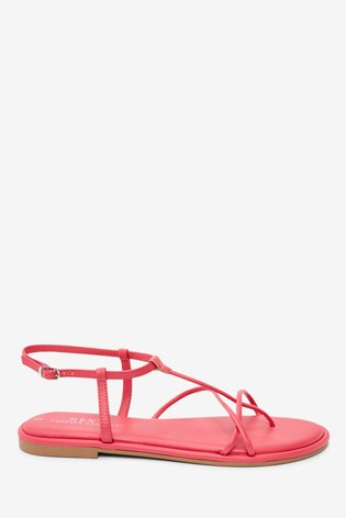 Pink Forever Comfort® Strappy Sandals