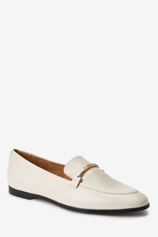 Bone Leather Forever Comfort® Hardware Loafers
