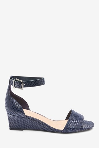Navy Forever Comfort® Low Wedges