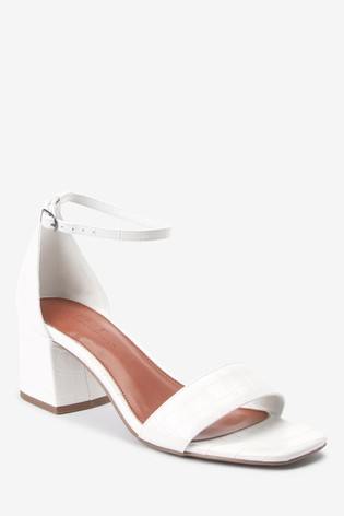 Simple Block Heel Sandals from Next USA
