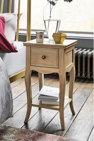 Madeline Slim 1 Drawer Bedside Table