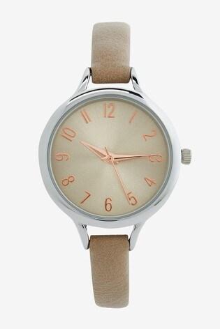 Neutral Simple Strap Watch