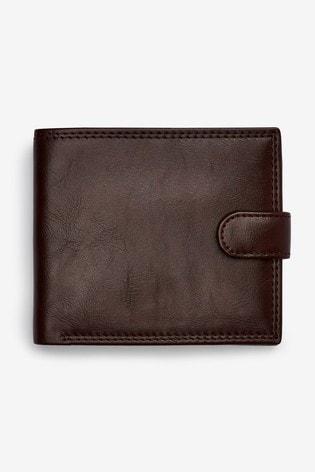 Brown Popper Wallet