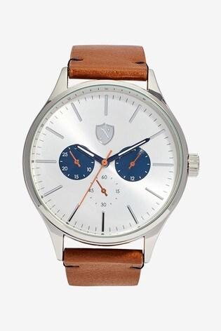 Tan Strap Watch