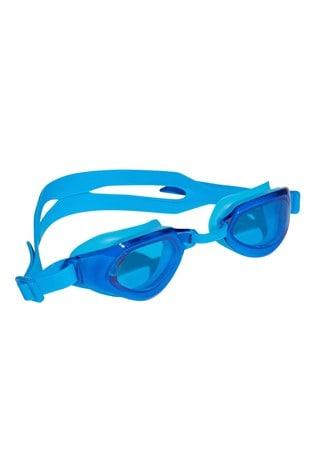 adidas Blue Persistar Swim Goggles