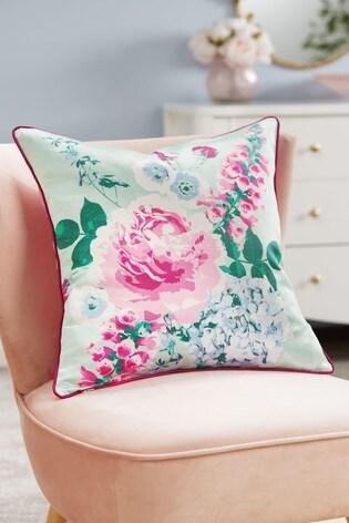 Romance Painterly Floral Cushion