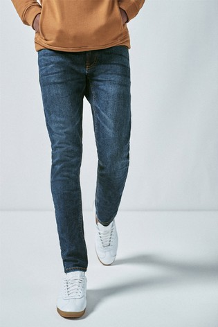 Blue Skinny Fit Motion Flex Stretch Jeans