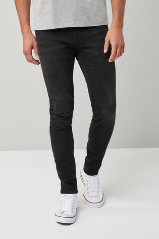 Black Skinny Fit Motion Flex Stretch Jeans