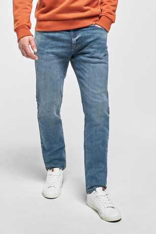 Blue Slim Fit Jeans With Stretch