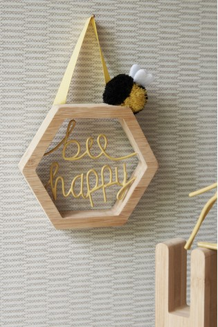 Bee Happy Hanging Decoration