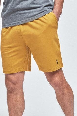 Yellow Lightweight Shorts