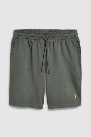 Khaki Shorts Lightweight Loungewear