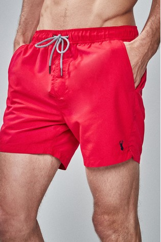 Red Essential Swim Shorts