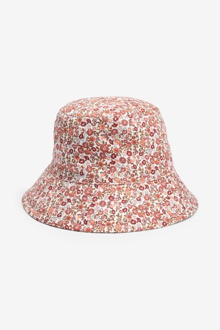 Ecru Ditsy Fisherman's Hat (Older)