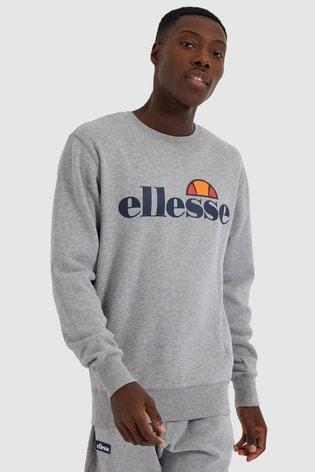 Ellesse Grey Marl Succiso Sweatshirt