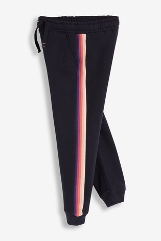 Navy Rainbow Joggers (3-16yrs)