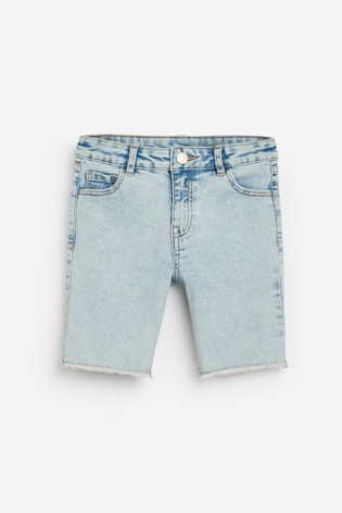 Denim Light Blue Board Shorts (3-16yrs)