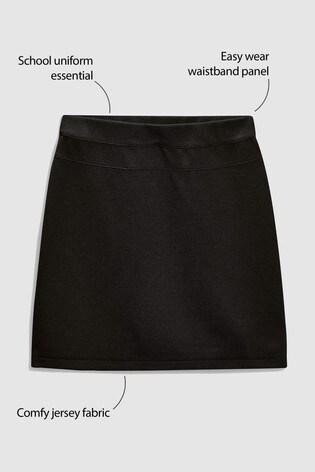 Black Jersey Pencil Skirt (3-16yrs)