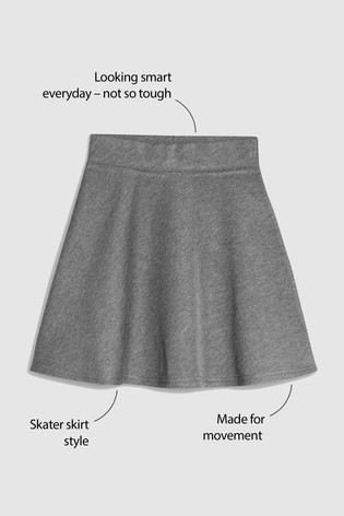 Grey Skater Skirt (3-16yrs)