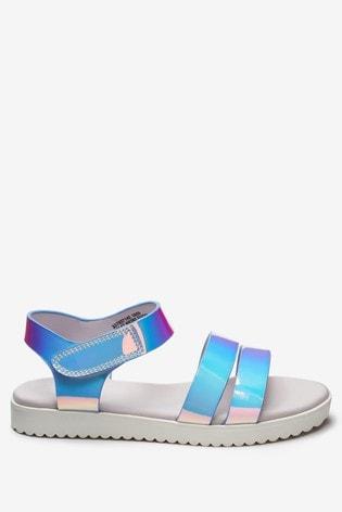 Iridescent Sandals