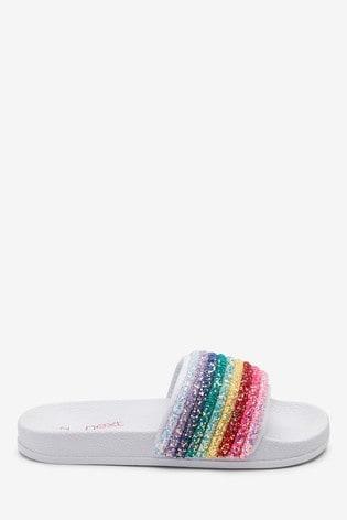 Multi Glitter Rainbow Sliders (Older)