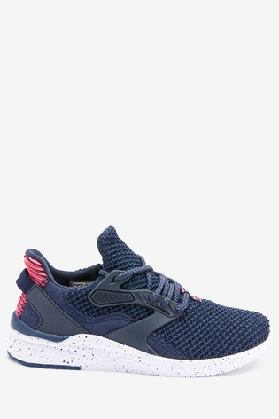 Navy Runner Trainers (Older)