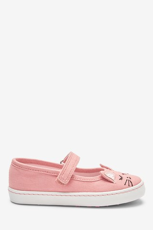 Pink Cat Mary Jane Pumps (Younger)