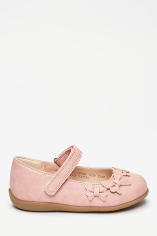 Pink Butterfly Mary Jane Shoes (Younger)