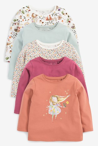 Character 5 Pack T-Shirts (3mths-7yrs)