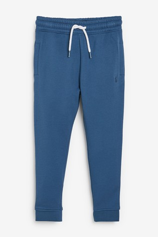 Mid Blue Slim Fit Cuffed Joggers (3-16yrs)