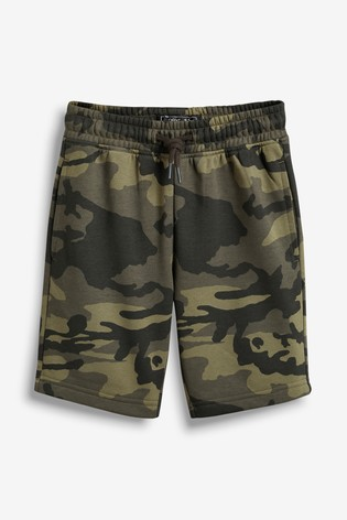 Camouflage Jersey Shorts (3-16yrs)