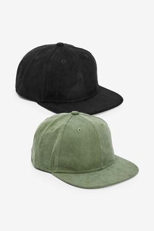 Black/Khaki 2 Pack Caps (Older)