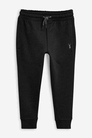 Black Skinny Fit Cuffed Joggers (3-16yrs)