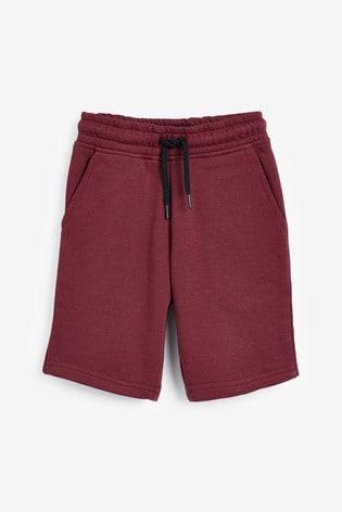 Plum Jersey Shorts (3-16yrs)