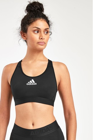 adidas Black Don't Rest Alphaskin Bra