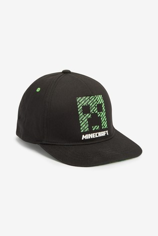 Black Minecraft Cap (Older)