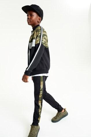 Camouflage Zip Through Set (3-16yrs)