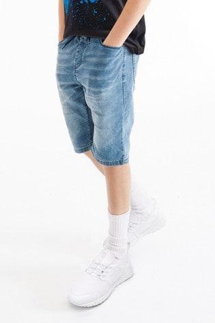 Light Blue Denim Shorts (3-16yrs)