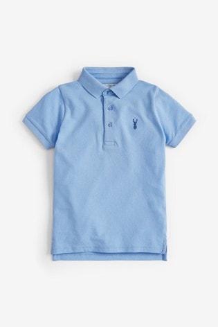 Light Blue Poloshirt (3-16yrs)