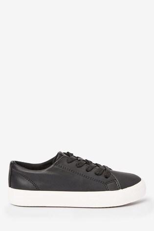 Black Lace-Up Shoes (Older)