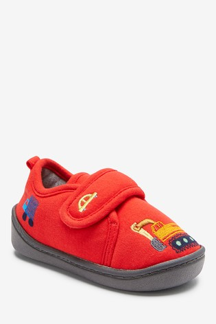 Red Transport Slippers (Younger)