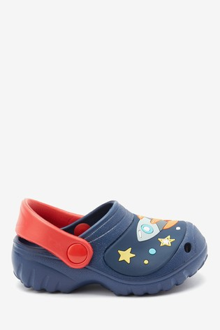 Navy Rocket Clogs (Younger)