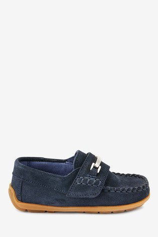 Blue Penny Snaffle Loafers (Younger)