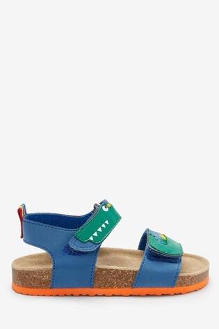 Crocodile Standard Fit (F) Corkbed Sandals