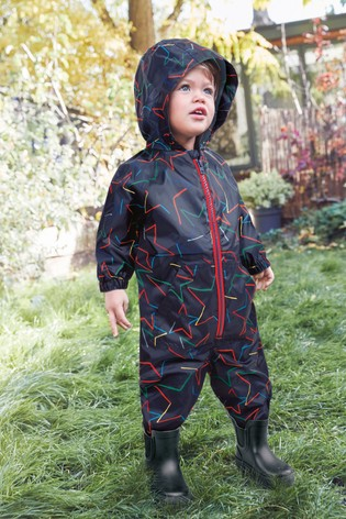 Navy Star Puddlesuit (3mths-7yrs)